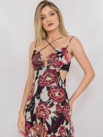Vestido-Longo-De-Chiffon-Com-Decote-E-Fenda-Estamp