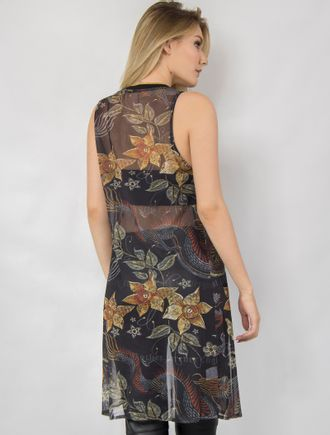 Regatao-Tule-Dragon-Gold-com-Silk-de-Pe-Estampado