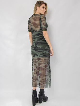Vestido-Longo-Tule-Camuflado-Estampado