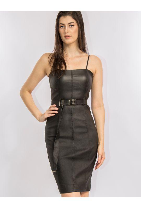 vestido-curto-de-sarja-encerada-com-cinto-44314_PRETO