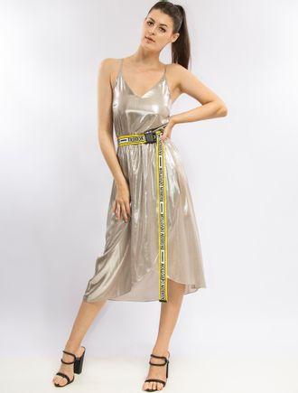 Vestido-Curto-Metalizado