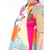 Vestido-Curto-De-Nylon-E-Tela-Estampa-Sport-Patchw