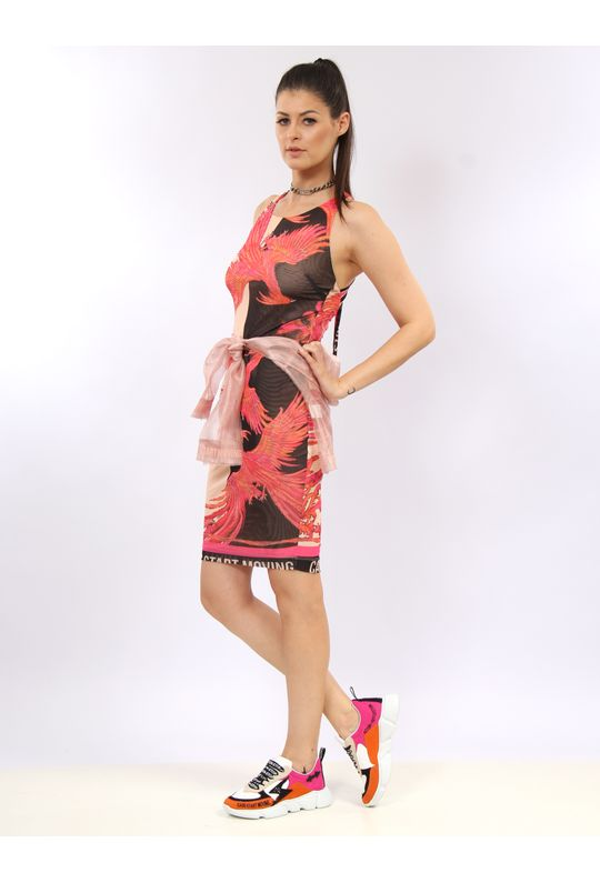 Vestido-De-Tule-Fivela-Costas-Silk-Start-Moving-Fe