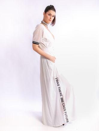 Vestido-Com-Detalhe-De-Tela-Com-Retilinea