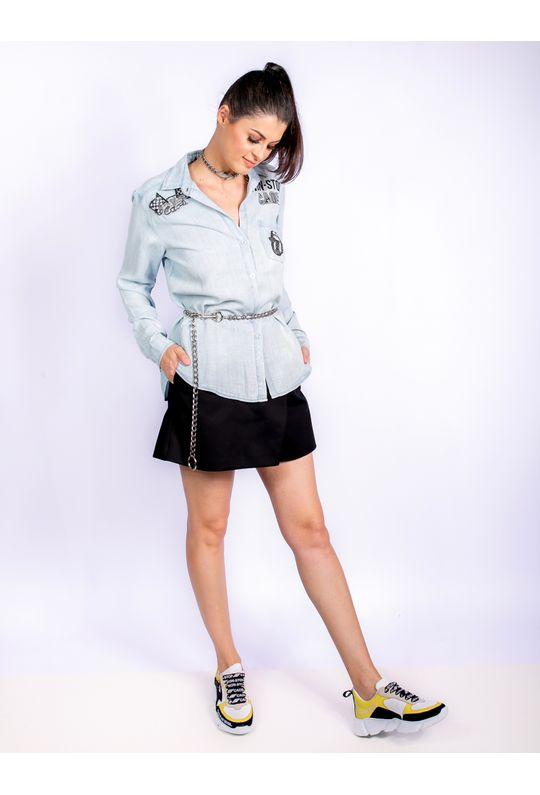 Camisa-Jeans-Com-Patchs-E-Adesivos-Pretos