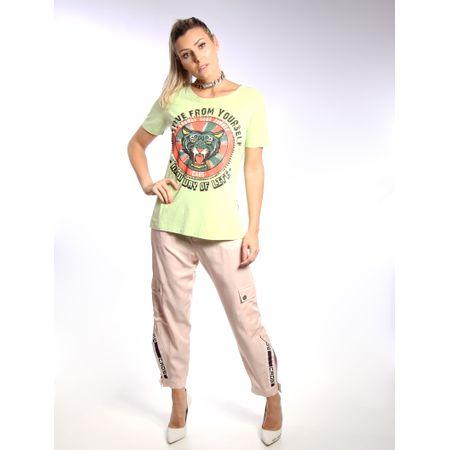 Blusa De Malha Com Fenda Silk Active From Yourself