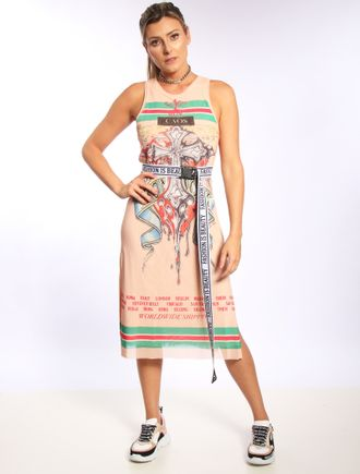 Vestido-Longuete-De-Tule-World-Wide-Shipping-Cruz