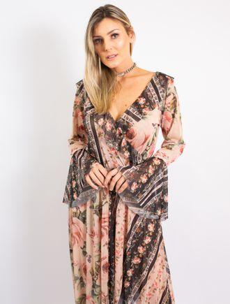 Vestido-Longo-De-Tule-Estampa-Floral-Com-Listras