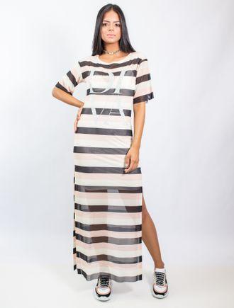 Vestido-Longo-De-Tule-Estampa-Sand-Stripe-Com-Ades