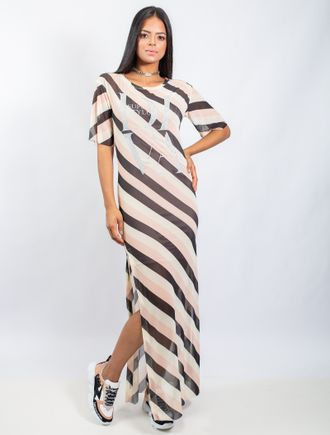 Vestido-Longo-De-Tule-Estampa-Sand-Stripe-E-Adesiv