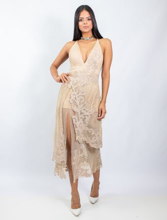 Vestido-Midi-De-Tela-Com-Transfer