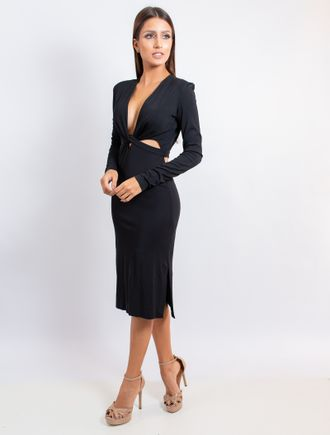 Vestido-Curto-De-Malha