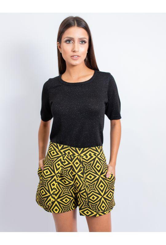 Short-De-Alfaiataria-Estampa-Geometrico-Amarelo