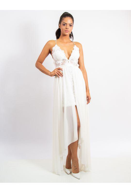 Vestido-Longo-De-Tule-E-Renda-Com-Detalhe