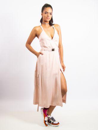 Vestido-Longuete-De-Liocel-Com-Cinto