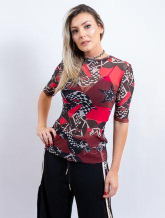 Blusa-De-Tule-Estampa-Cobra-Xadrez