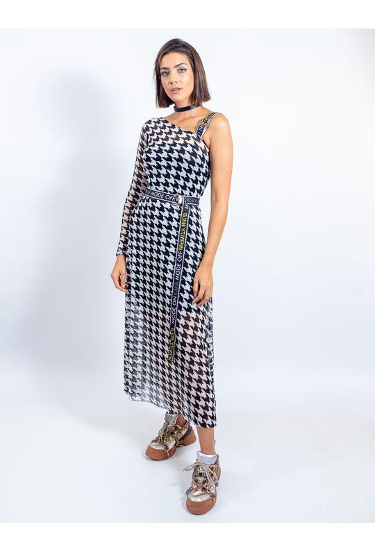 Vestido-Longuete-De-Tule-Com-Cinto-De-Galao-Estamp