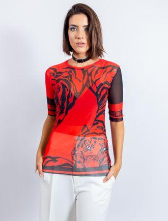 Blusa-De-Tule-Com-Silk-Tigre-Collor
