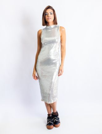 Vestido-Longuete-De-Paete