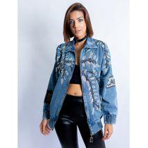 Jaqueta-Bomber-Jeans-Com-Bordado-Folhas