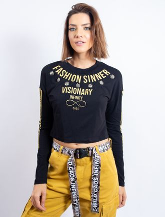 Cropped-De-Malha-Com-Manga-Comprida-Silk-Fashion-S