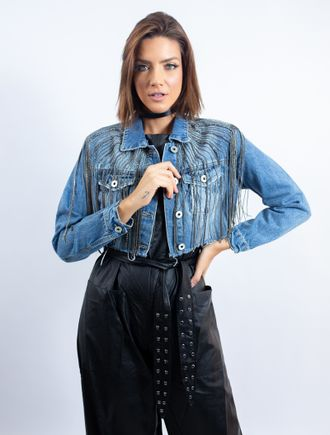 Jaqueta-Cropped-Jeans-Com-Bordado-Correntes