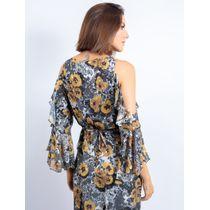 Vestido-Longo-Com-Babado-Estampa-Flower-Lace