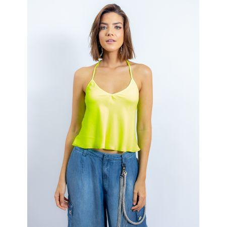 Blusa De Alcinha Neon