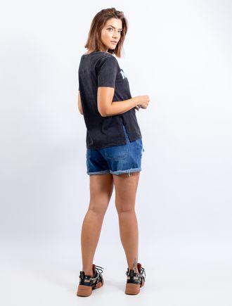 Blusa De Malha Com Silk E Bordado