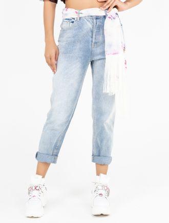 Calca-Mom-Jeans-Com-Cinto-Estampado-E-Franja