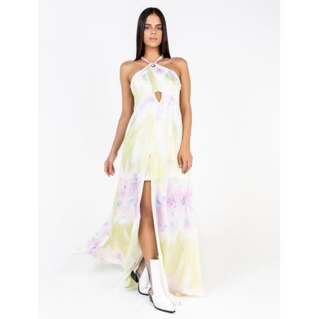 Vestido Longo Estampa Tye Dye
