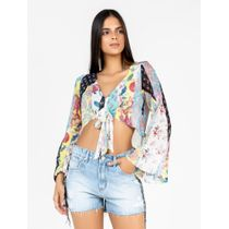 Cropped-De-Chiffon-Estampa-Patchwork