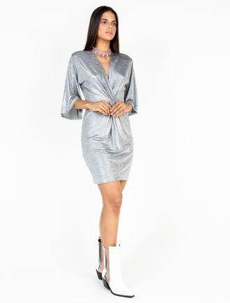 Vestido-Com-Detalhe-Frente-De-Jersey-Foil