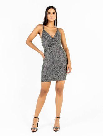 Vestido-Curto-De-Malha-Lurex-Com-Transfer