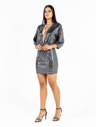 Vestido-Curto-De-Malha-Paete-Com-Decote