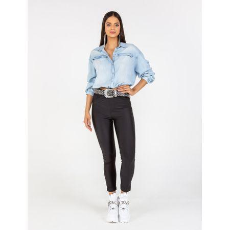 Camisa De Liocel Jeans