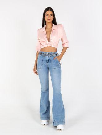 Calca-Flare-Moleton-Jeans