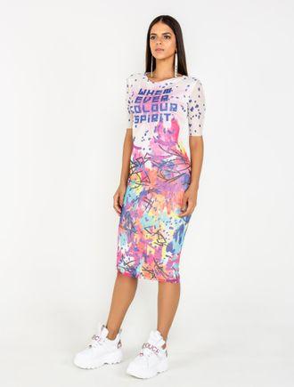 Vestido-Curto-De-Tule-Com-Silk-Grafite-Collors-Com