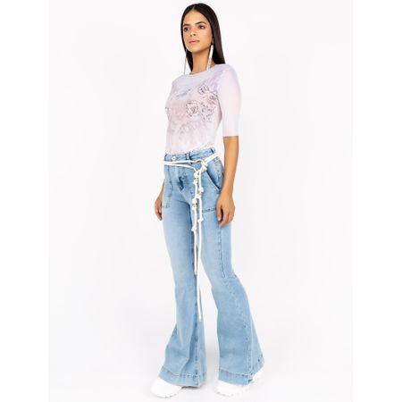 Blusa De Tule Com Silk Fashion Addicted Caos Com T