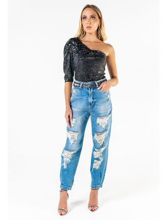 Calca-Jeans-Com-Rasgos-Elastico-Barra