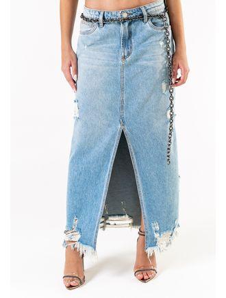 Saia-Jeans-Longa-Com-Fenda-Na-Frente
