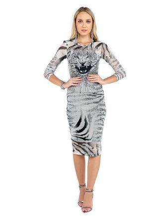 Vestido-Curto-De-Tule-Silk-Onca-Esplendor-Com-Tran