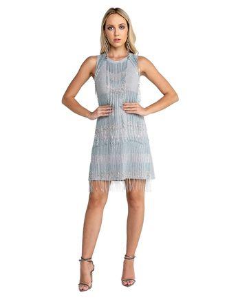 Vestido-Curto-De-Lurex-Com-Transfer-E-Bordado
