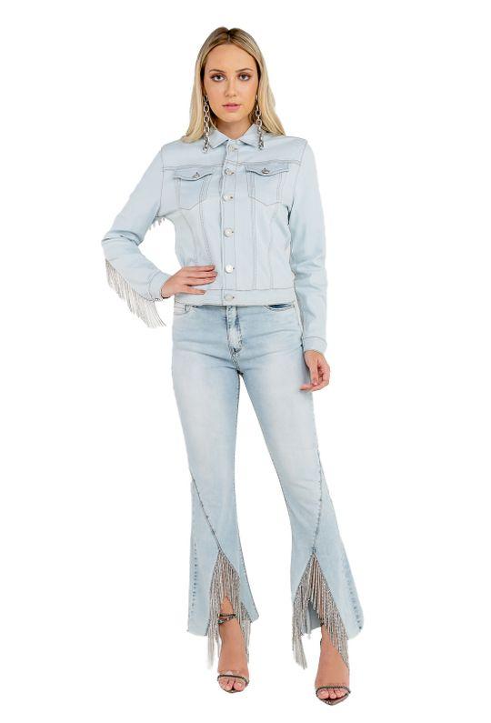 Jaqueta-Jeans-Bordado-Franja-Costas-De-Strass-Com