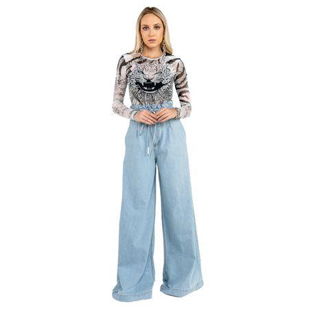 Calça Jeans Clochard Pantalona