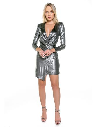 Vestido-Curto-Metalico