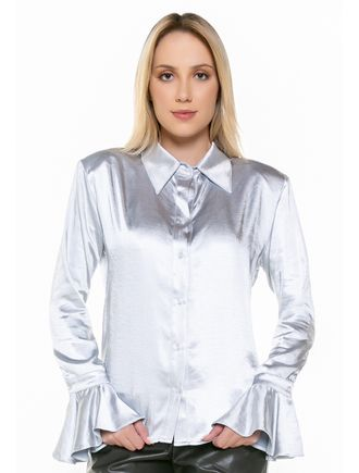 Camisa-Azul-Manga-Longa-Cetim-
