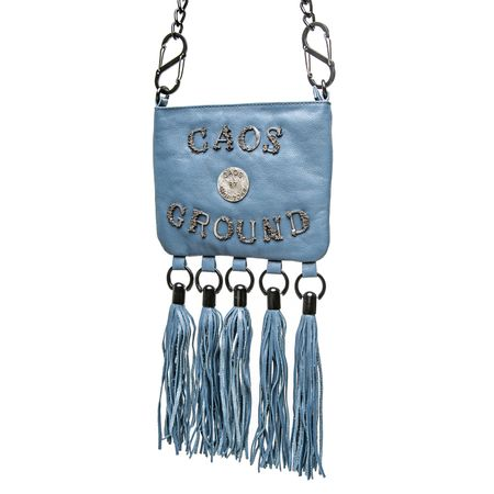 Bolsa Com Franjas Azul