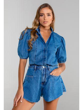 Camisa-jeans-com-manga-bufante