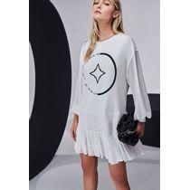 Vestido-Curto-Manga-Longa-Off-White